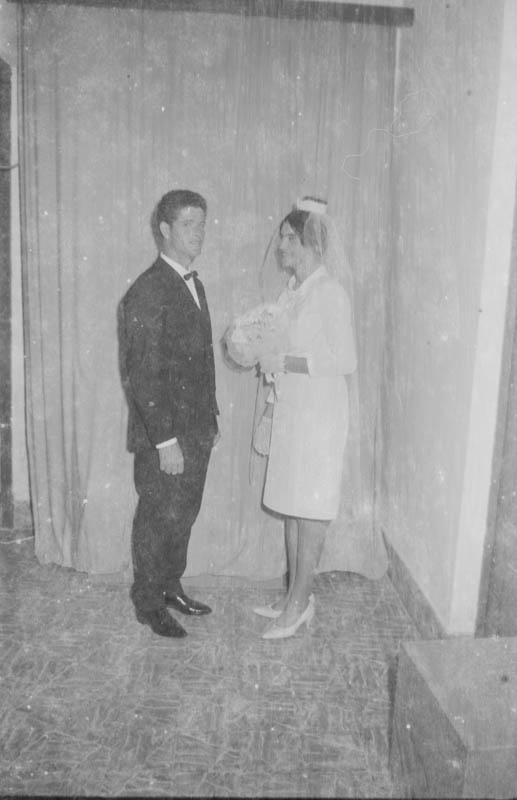 Novios recién casados I