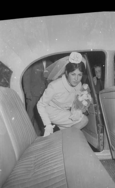Novia recién casada