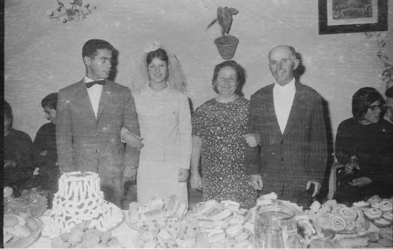 Novios recién casados VI