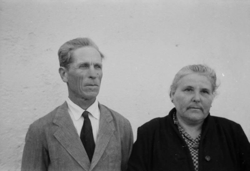 Señor y Señora de Órzola