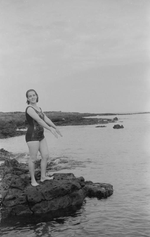 Bañistas en Punta Mujeres V