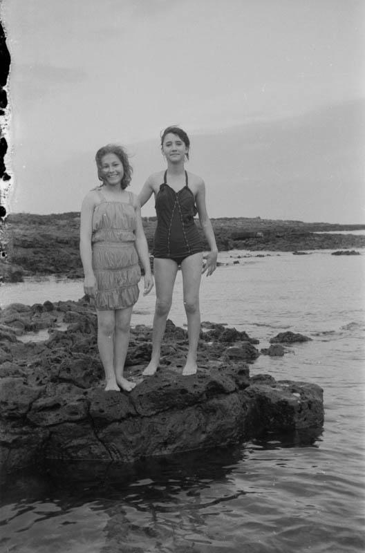 Bañistas en Punta Mujeres III