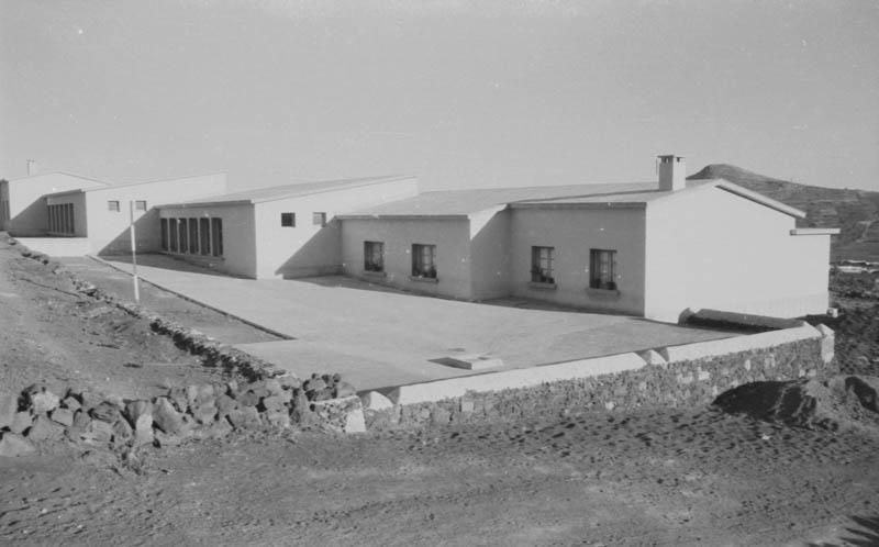 Construcción de las Escuelas de Máguez I