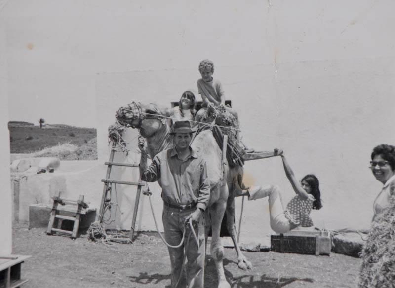 Montados en el camello