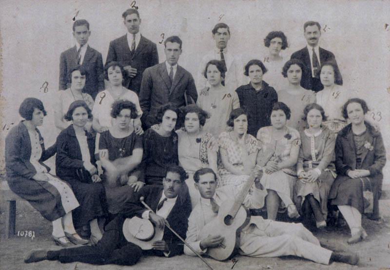 Grupo de amigos de San Bartolomé I