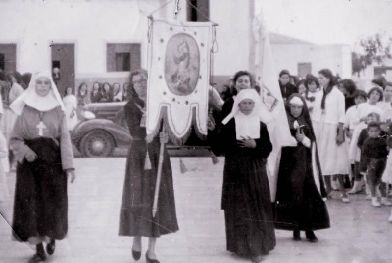 Día de la Inmaculada en San Bartolomé 1965