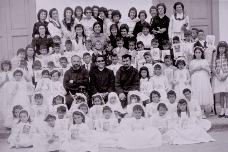Primera comunión en San Bartolomé 1959
