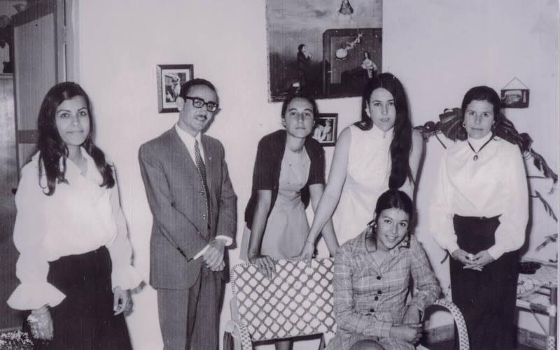En la boda de Fela Fuentes