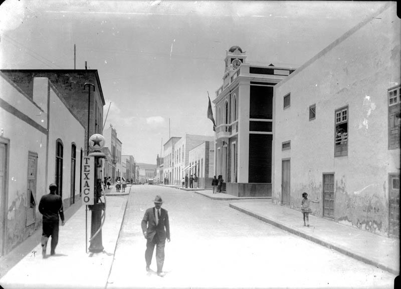 Calle Real de Arrecife 1928