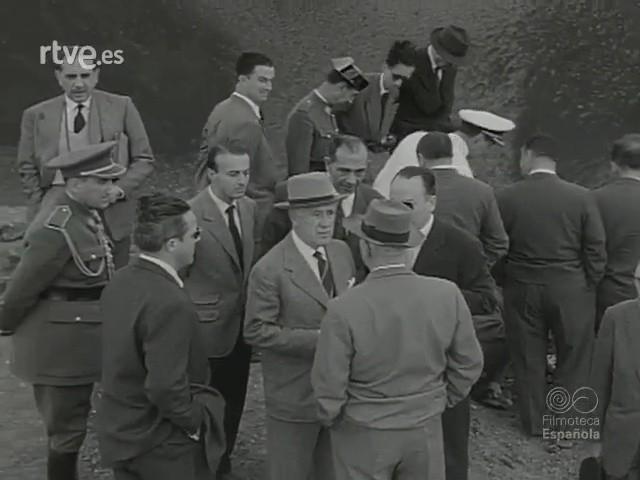 Viaje ministerial a Lanzarote (1957)