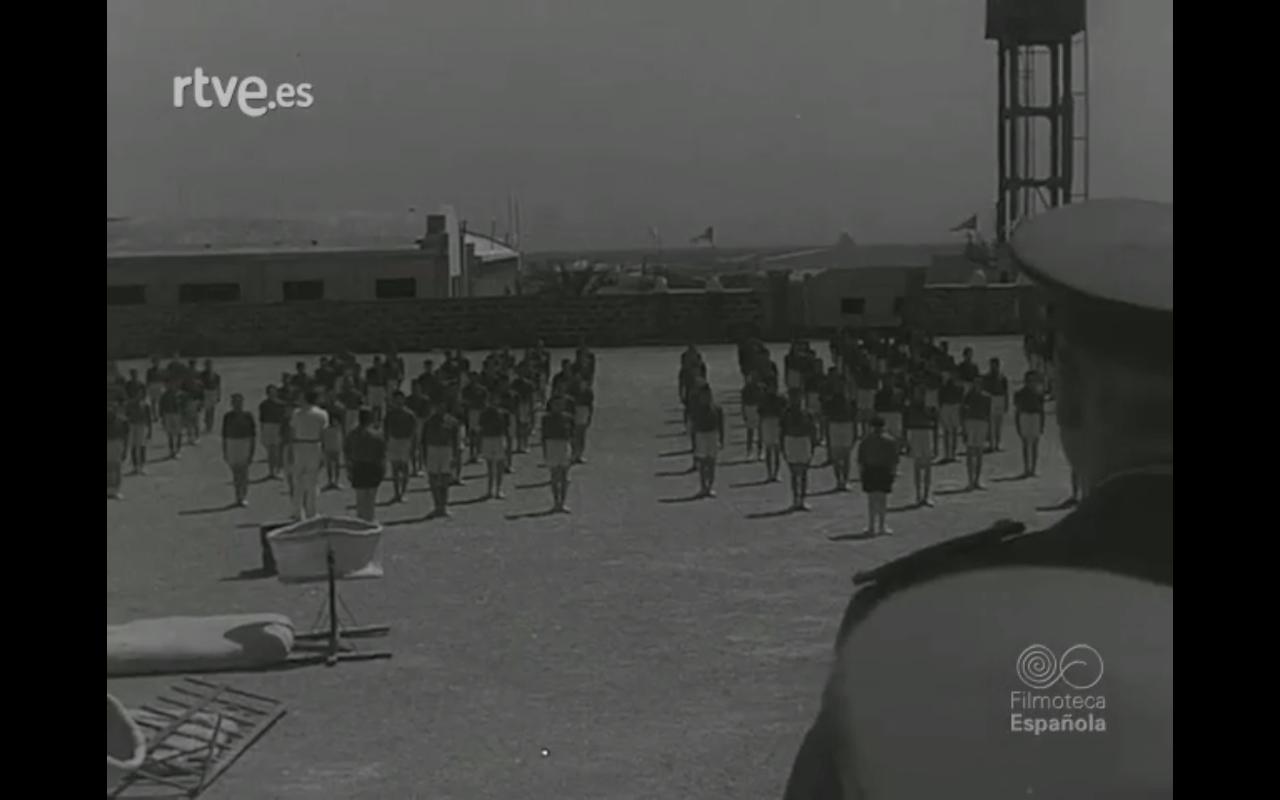 Visita del ministro del Ejército a Lanzarote (1958)