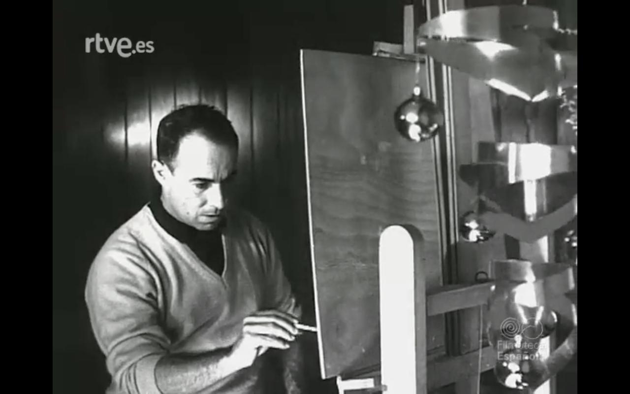 Felicitación de César Manrique (1962)