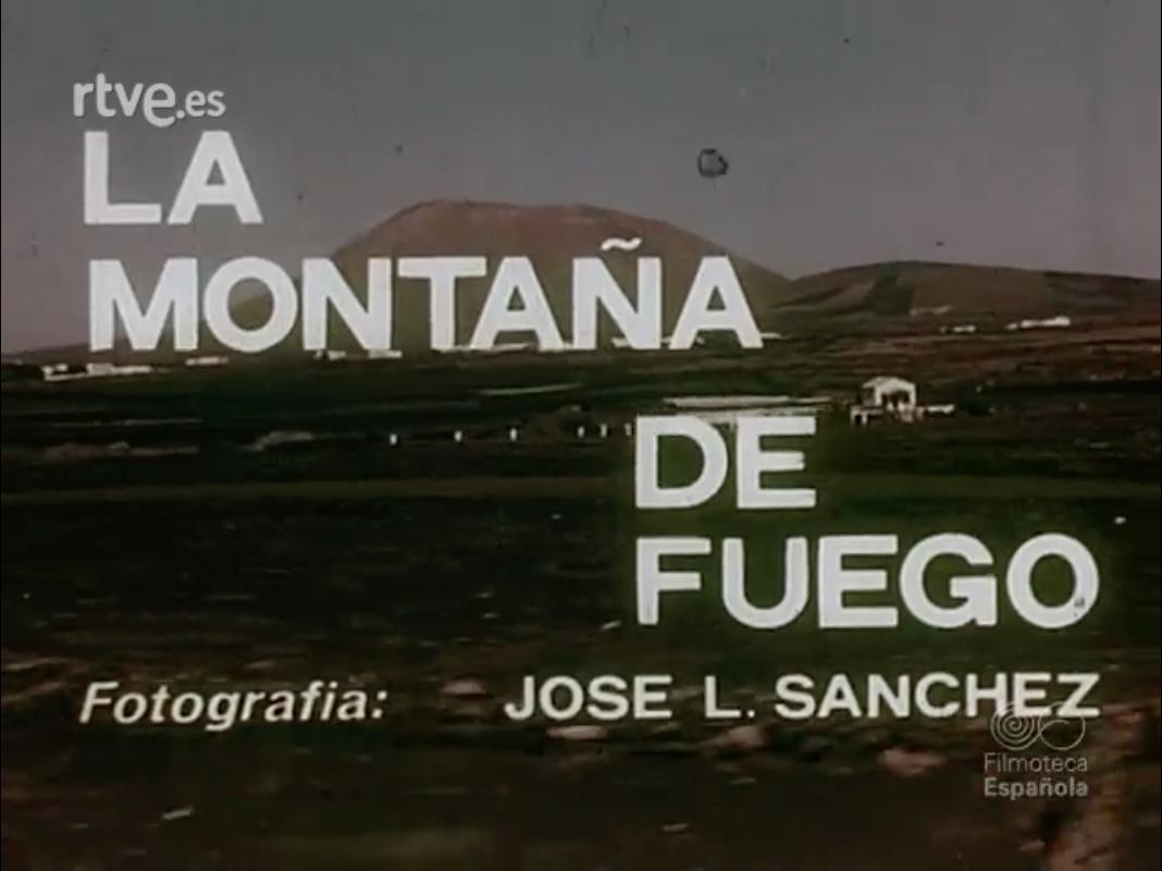 La montaña de fuego (1970)