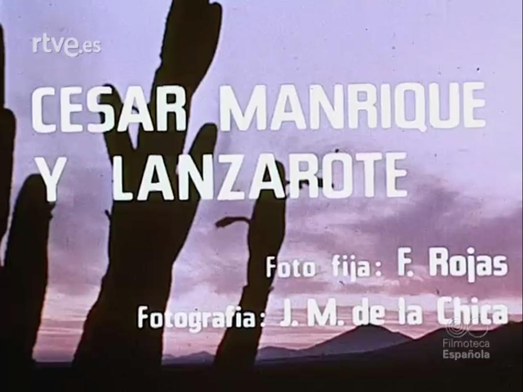 César Manrique y Lanzarote (1971)