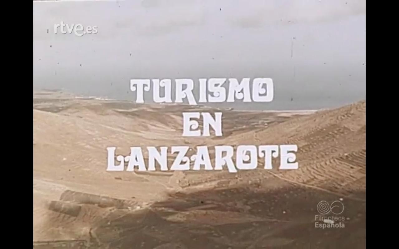 Turismo en Lanzarote (1976)