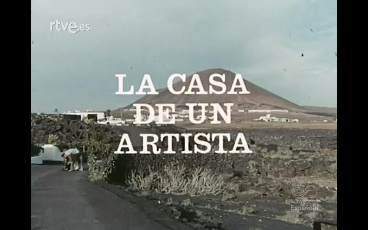 La casa de un artista: César Manrique (1977)