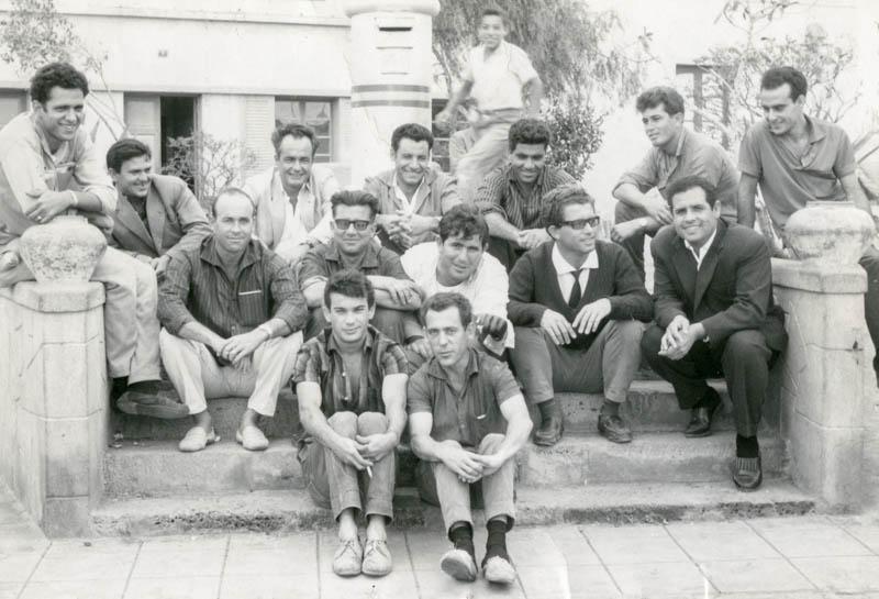 Amigos en la Plaza de España II