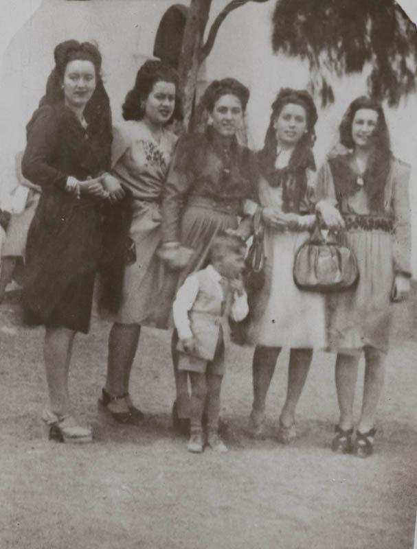 Mujeres en San Bartolomé