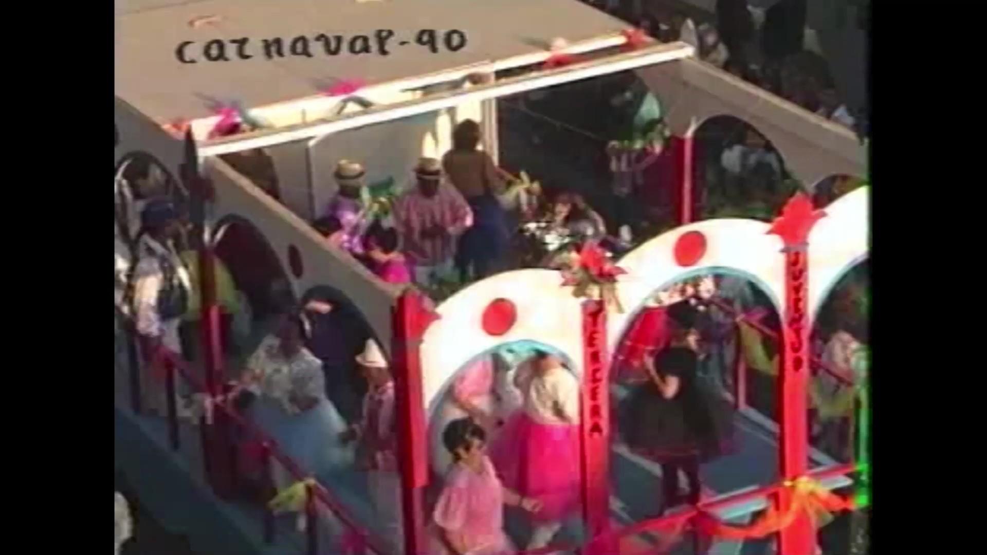 Coso del carnaval de Arrecife (1990)