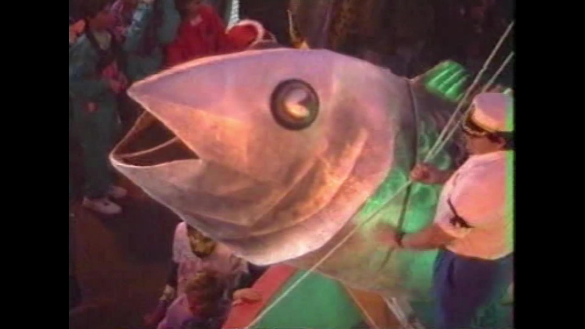 Entierro de la Sardina del carnaval de Arrecife (1992)