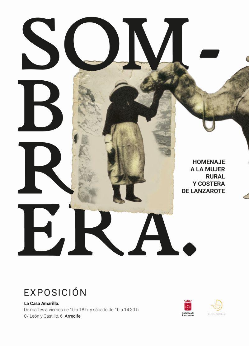 Dosier de la exposición Sombrera. Homenaje a la mujer rural y costera de Lanzarote