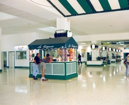 Antigua terminal del aeropuerto XIX