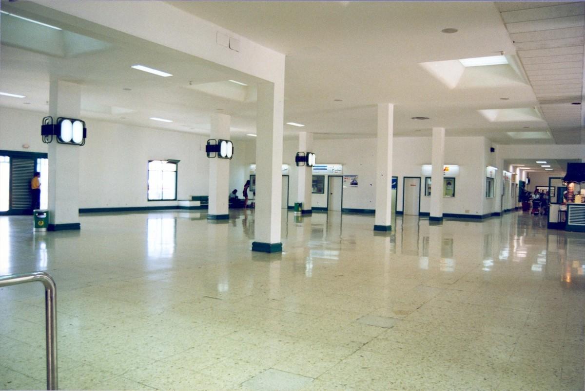 Antigua terminal del aeropuerto XXXIV