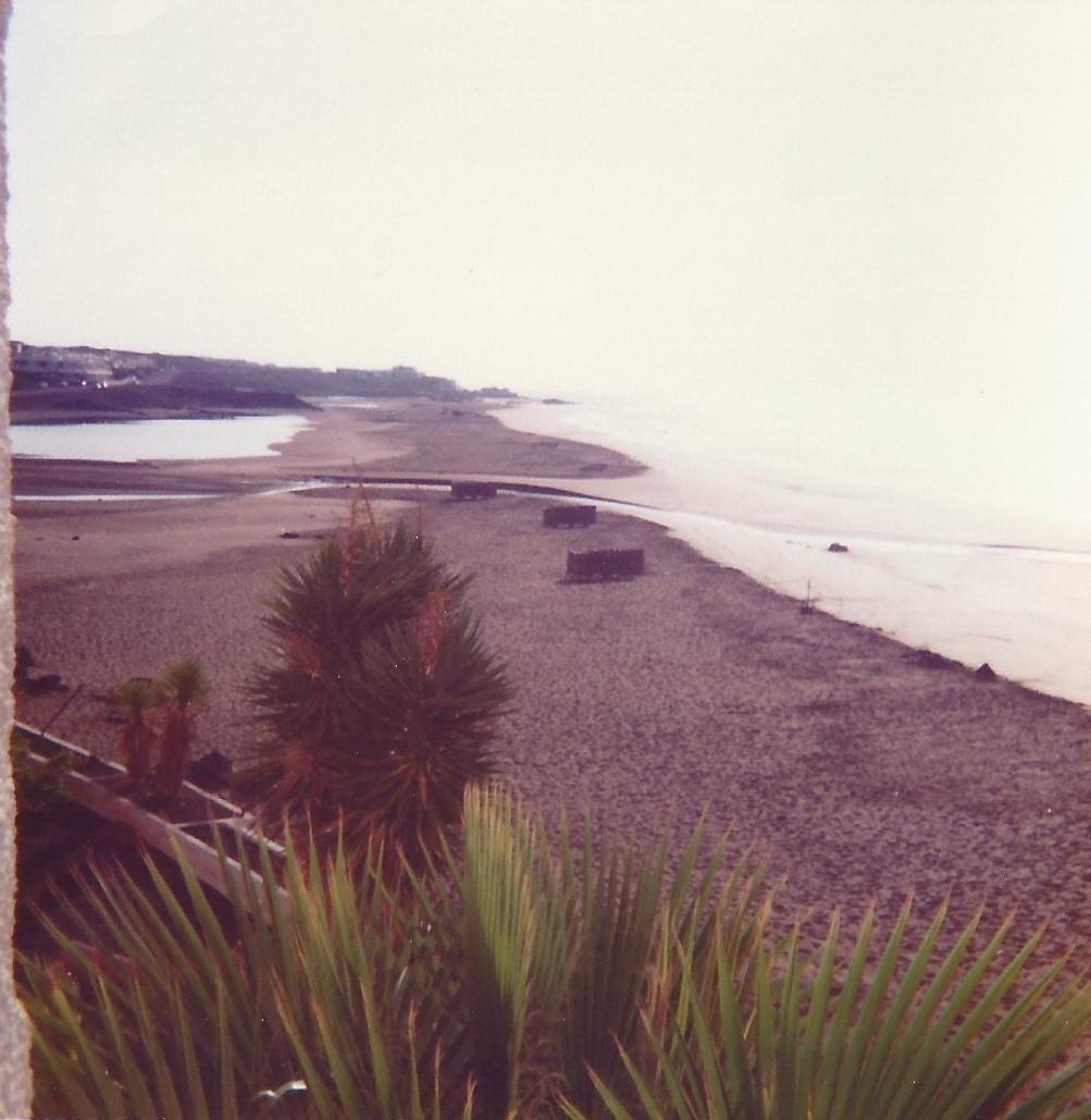 Playa grande de Puerto del Carmen