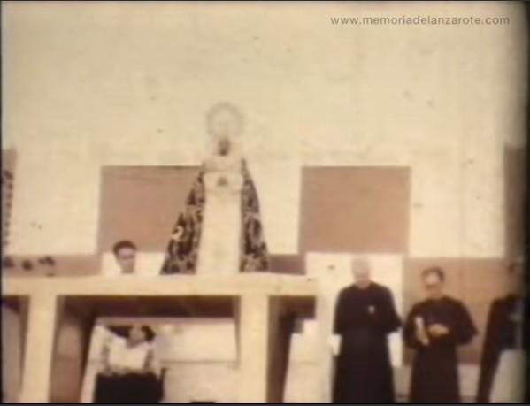 Virgen de Los Dolores en Arrecife (1965)