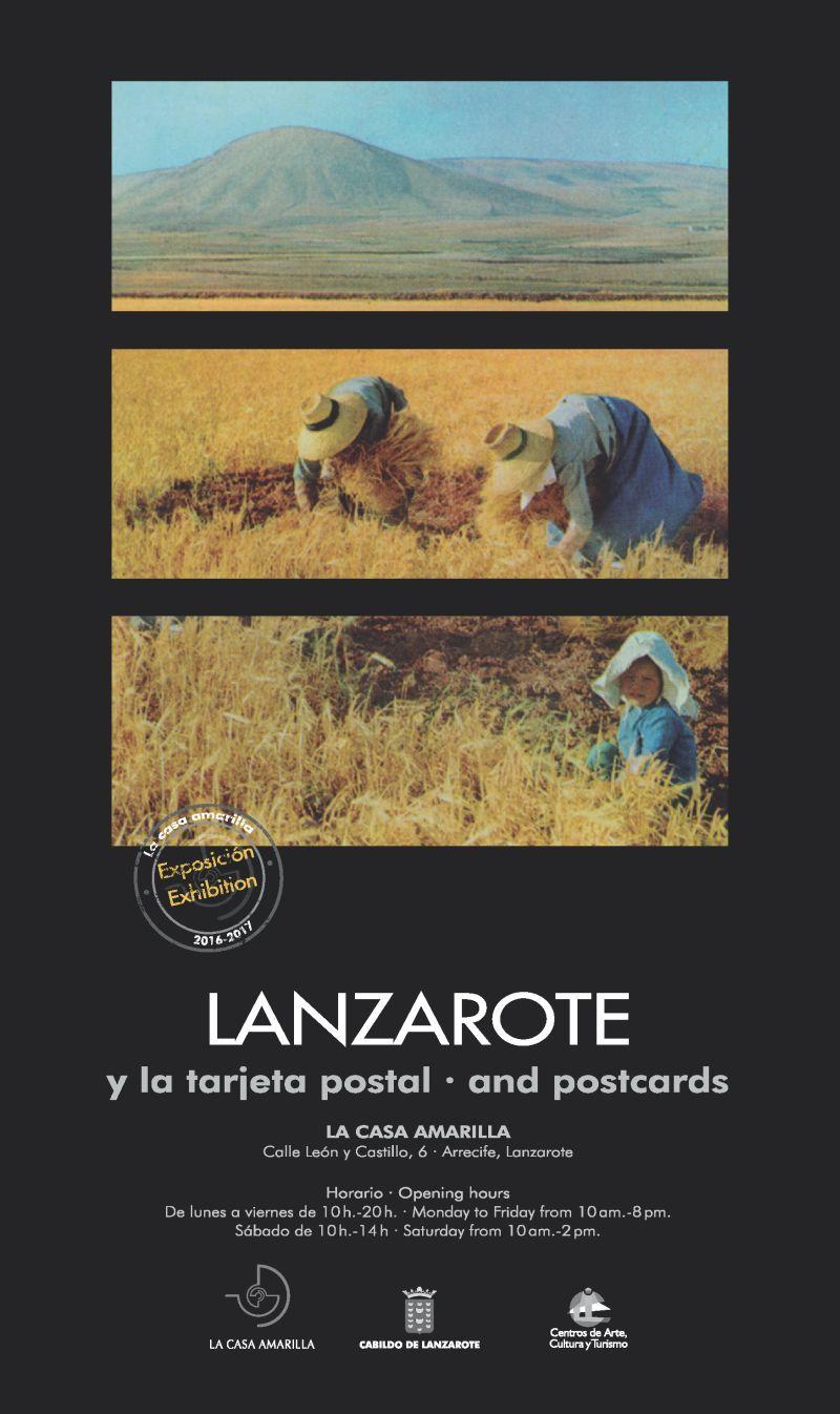 Dosier de la exposición Lanzarote y la tarjeta postal