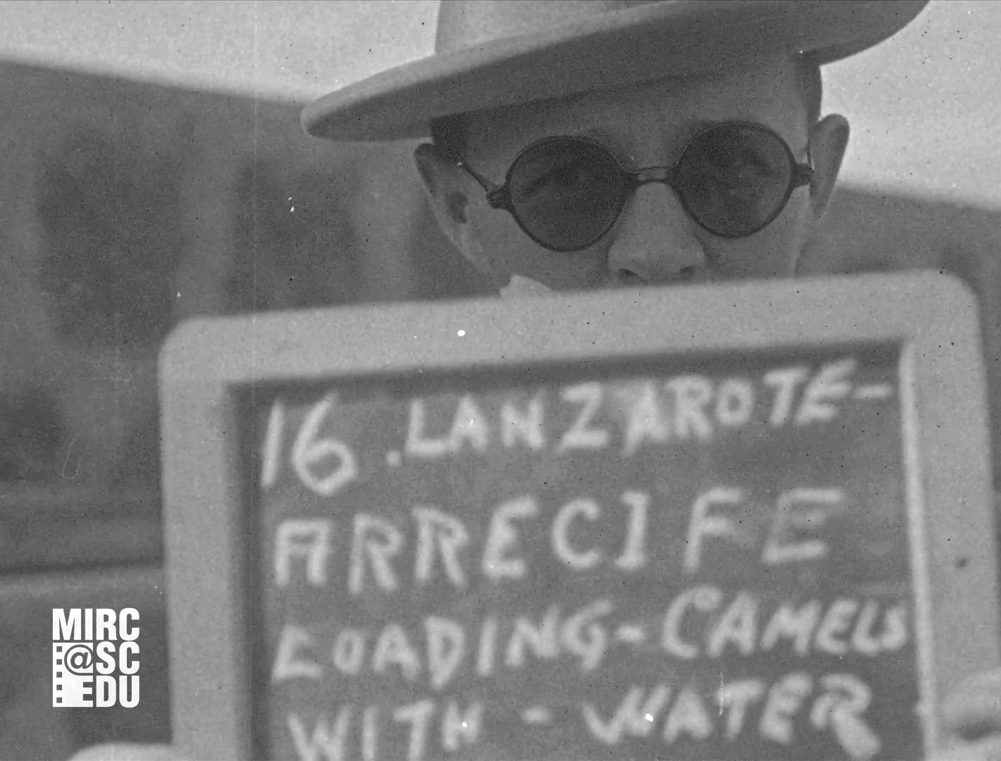 Filmoteca proyecta las imágenes profesionales más antiguas que se conocen de Lanzarote, filmadas en 1925 por la Fox